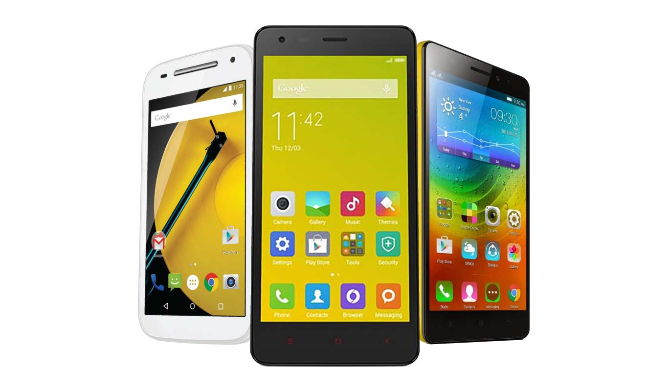 3 4G smartphones that are easy on the pocket