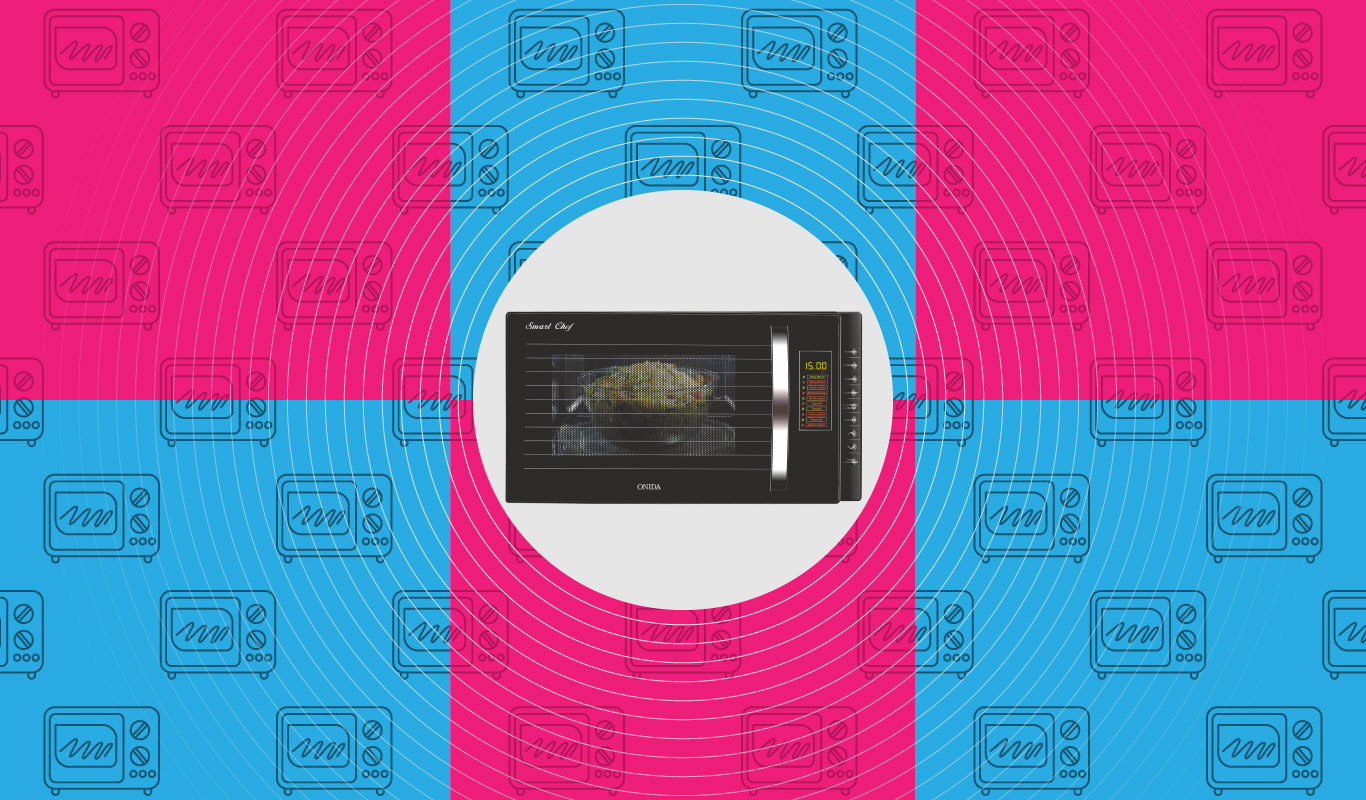 6 ways to cook smart with the Onida Smart Chef Microwave Oven
