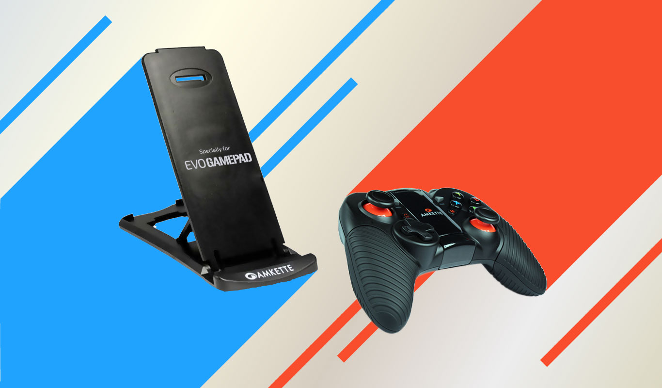 Play like a pro with the Amkette Evo Gamepad Pro 2