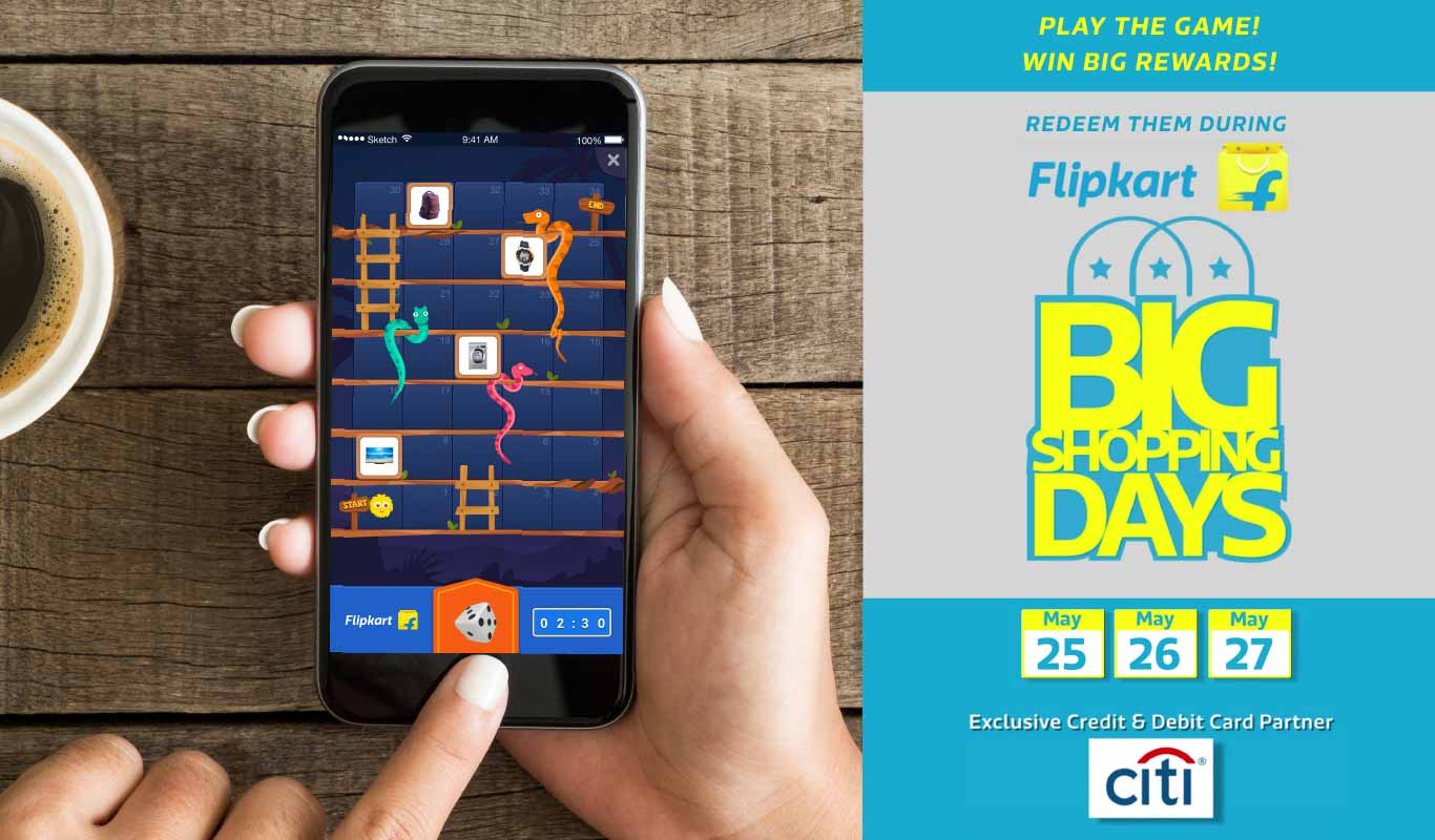 Play Flipkart Snakes and Ladders game, win big during Big Shopping Days
