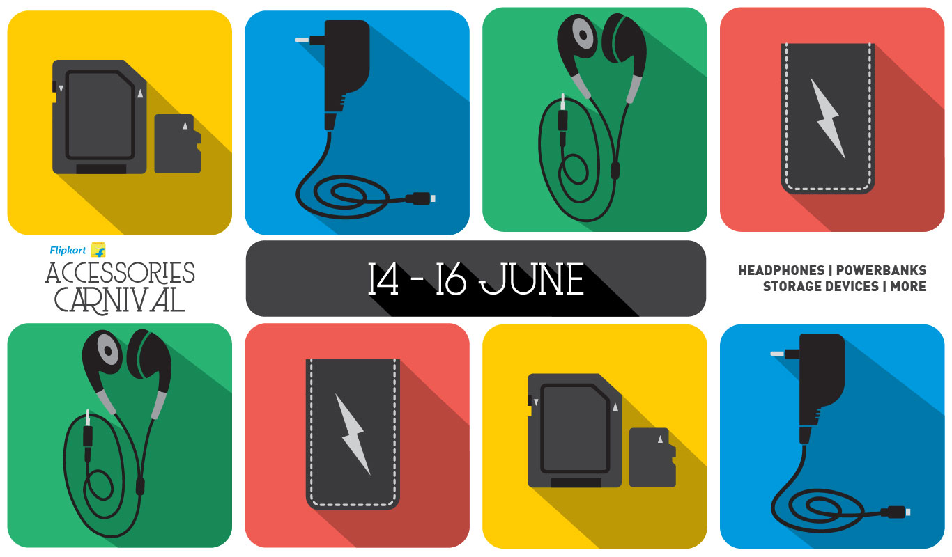 Flipkart Accessories Carnival – Fascinating deals on top brands