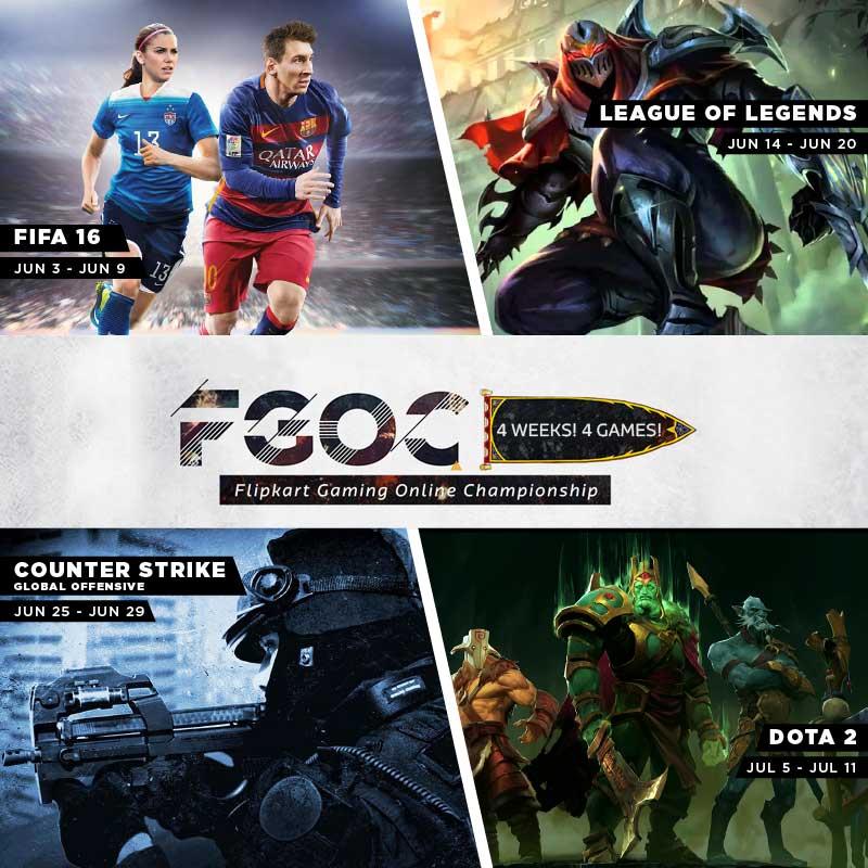 Flipkart Gaming Online Championship