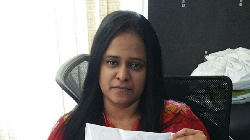 Sudhina of Rajdhani Cotton, top flipkart seller