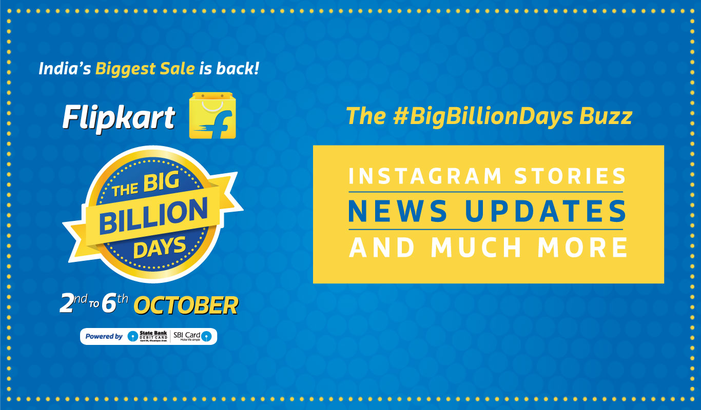 #BigBillionDays Buzz – Instagram Stories and more