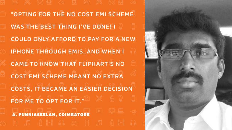 No Cost EMI Flipkart customer