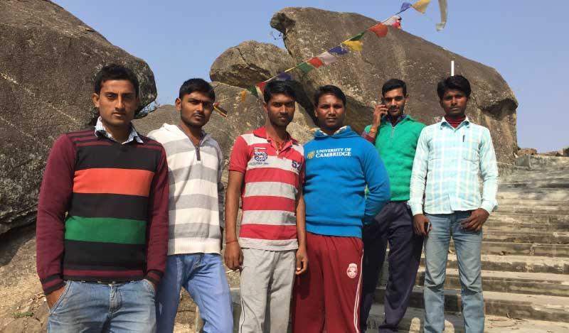 At Tagore Hill, Ranchi