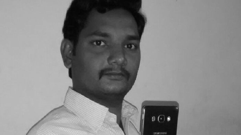 Ganesh with new phone