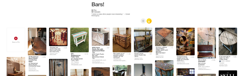Check out some interesting Bar ideas for your Bachelor Pad on our Pinterest board.