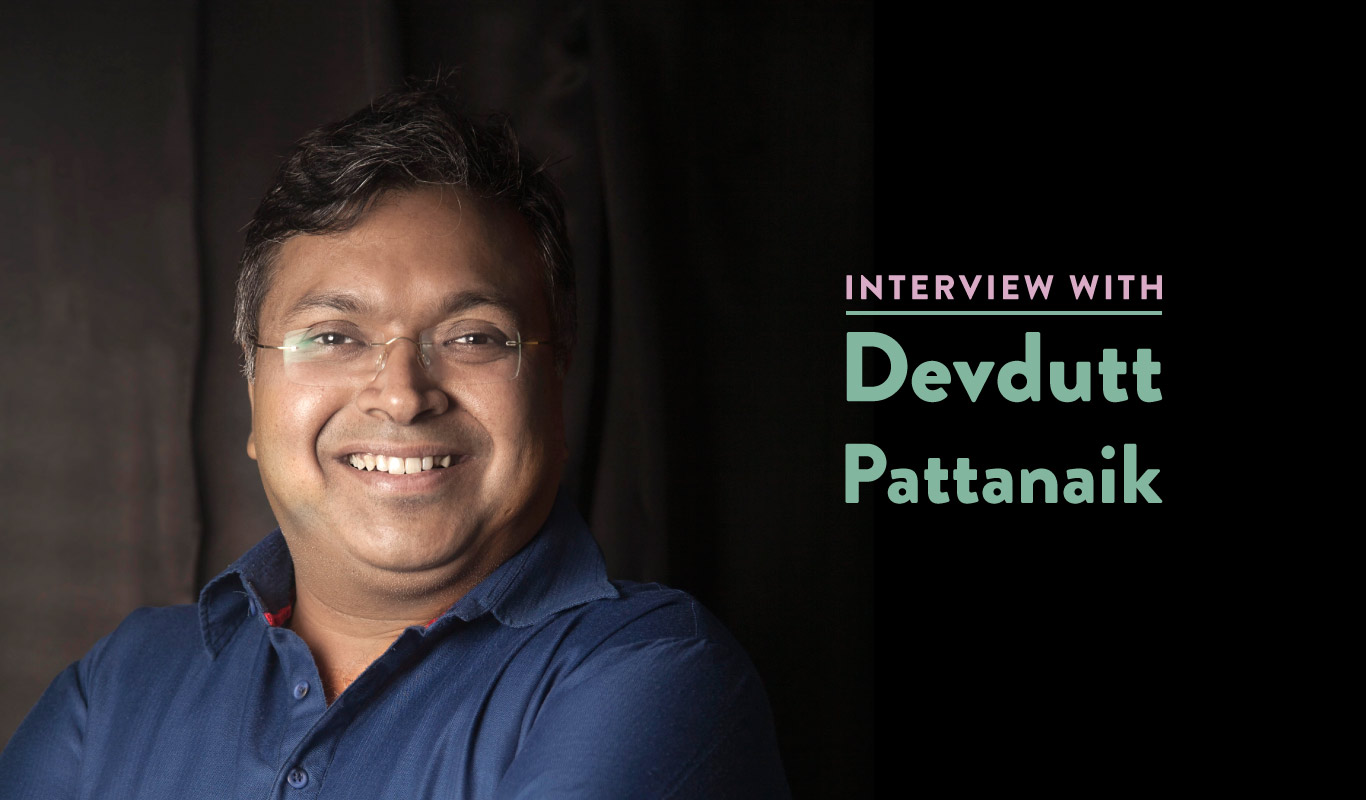 Interview: Devdutt Pattanaik on The Girl Who Chose