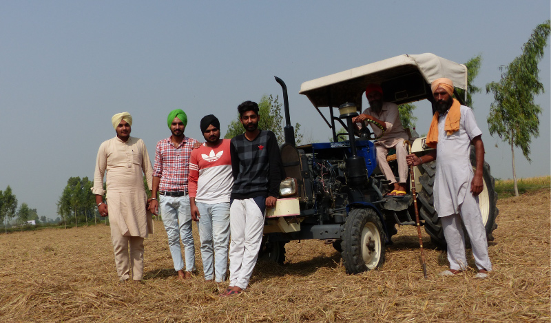In Makhu, Punjab, Gurwinder and his friends