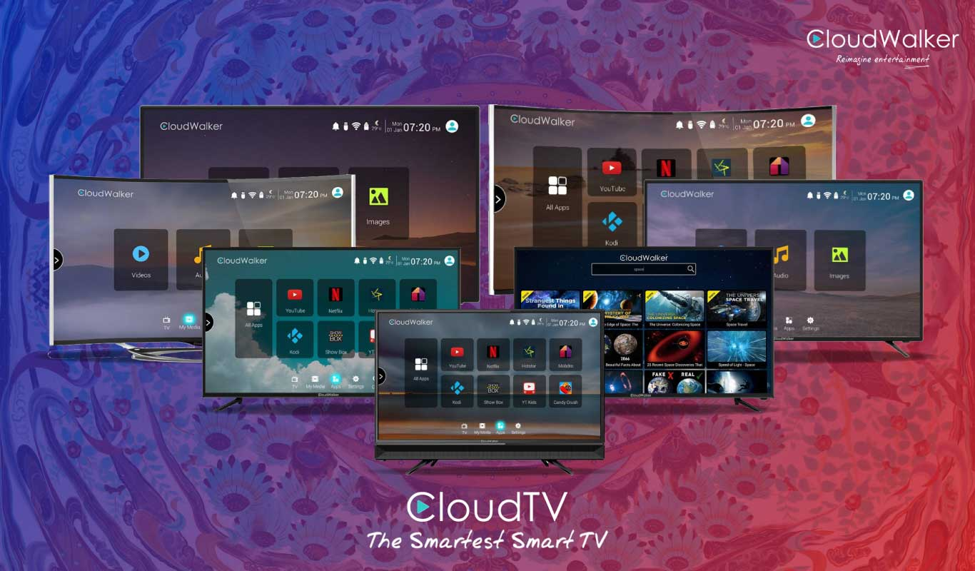 CloudWalker Cloud TVs – Immerse in a smarter television viewing experience