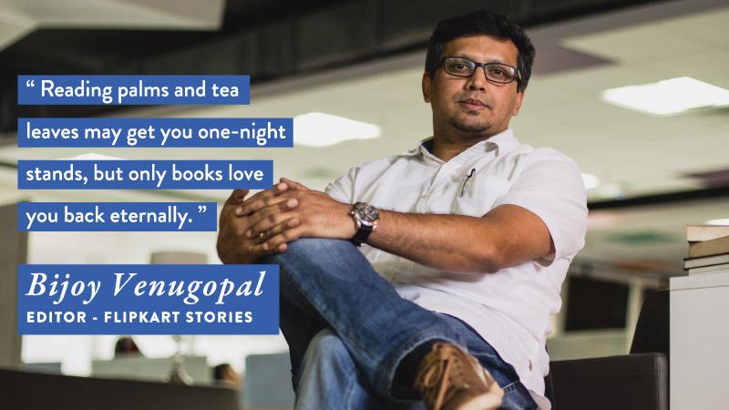 #WorldBookDay - Bijoy Venugopal