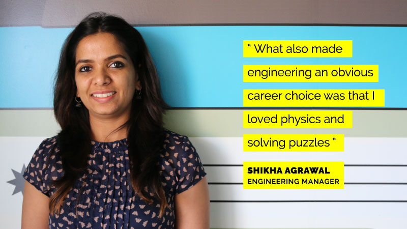 Women engineers at Flipkart - Shikha Agrawal