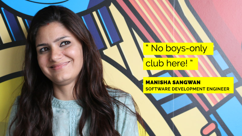 Women Engineers at Flipkart - Manisha Sangwan