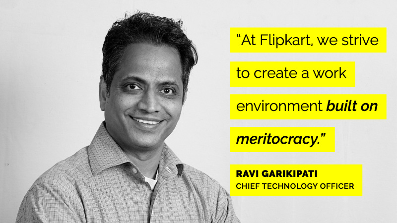 Ravi Garikipati on Women Engineers at Flipkart
