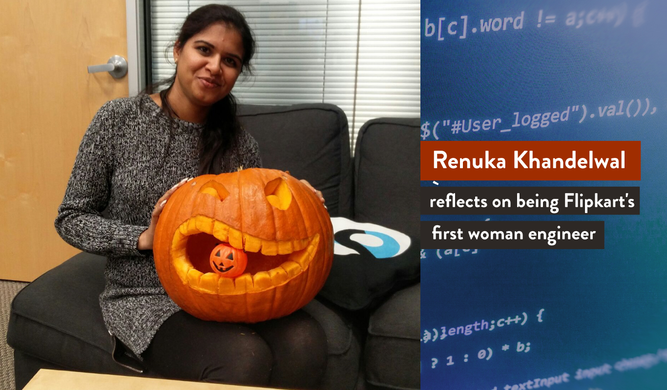 Meet Renuka Khandelwal, Flipkart's first woman engineer