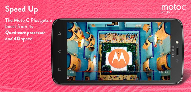 Moto C Plus - Flipkart Exclusive