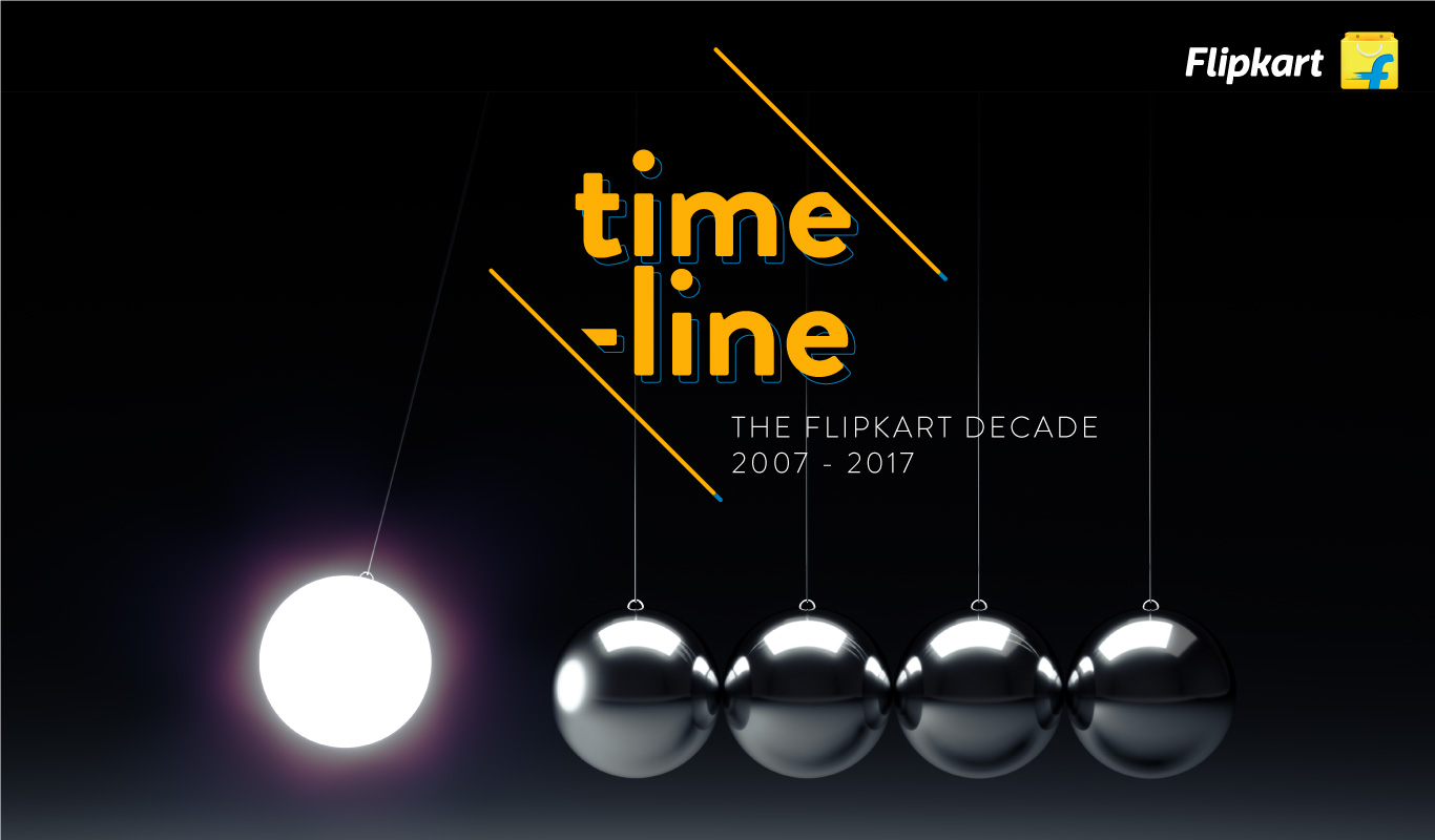 10 years of Flipkart – A Timeline of Milestones