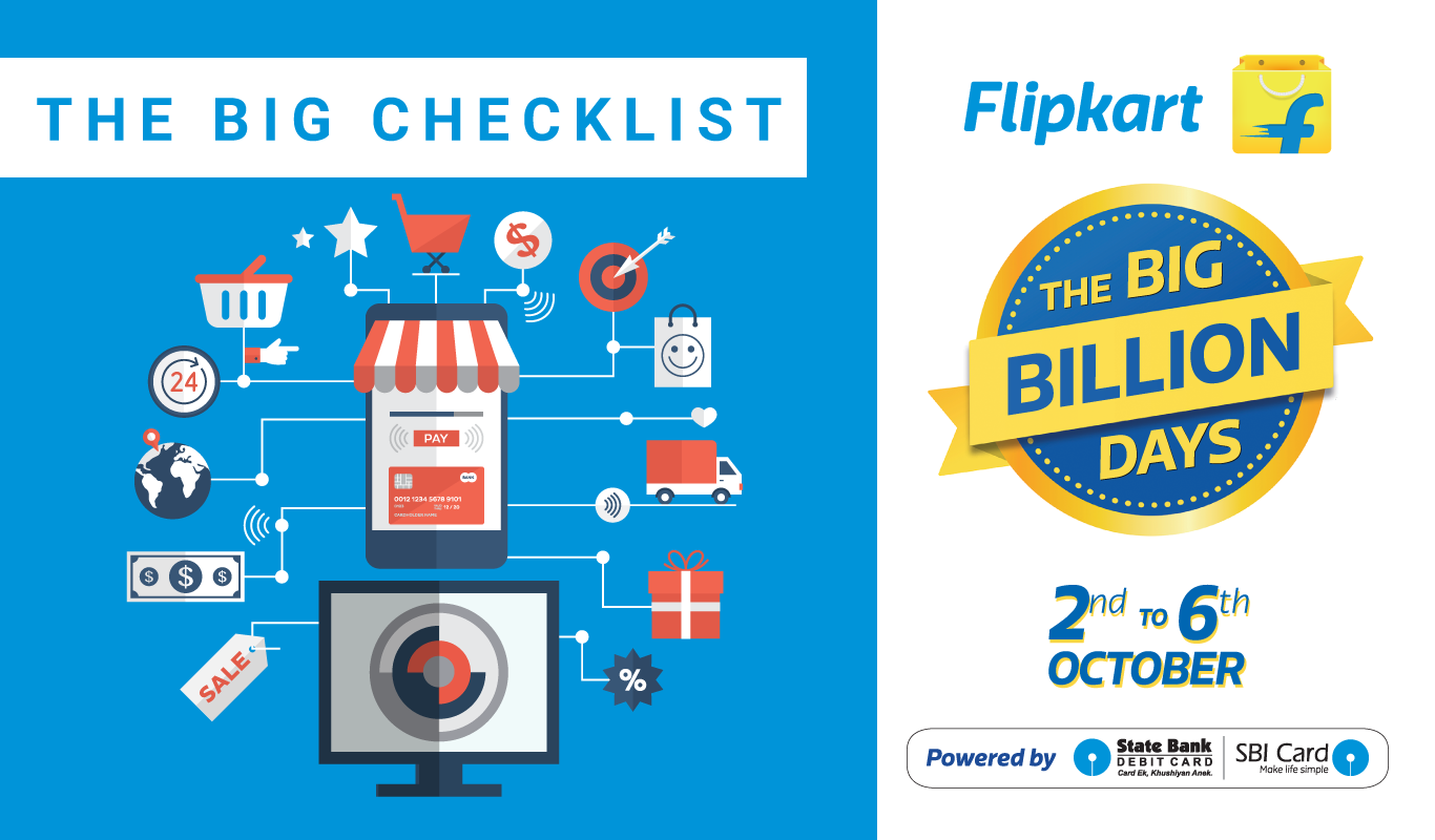 The Ultimate Big Billion Days Shopping Checklist