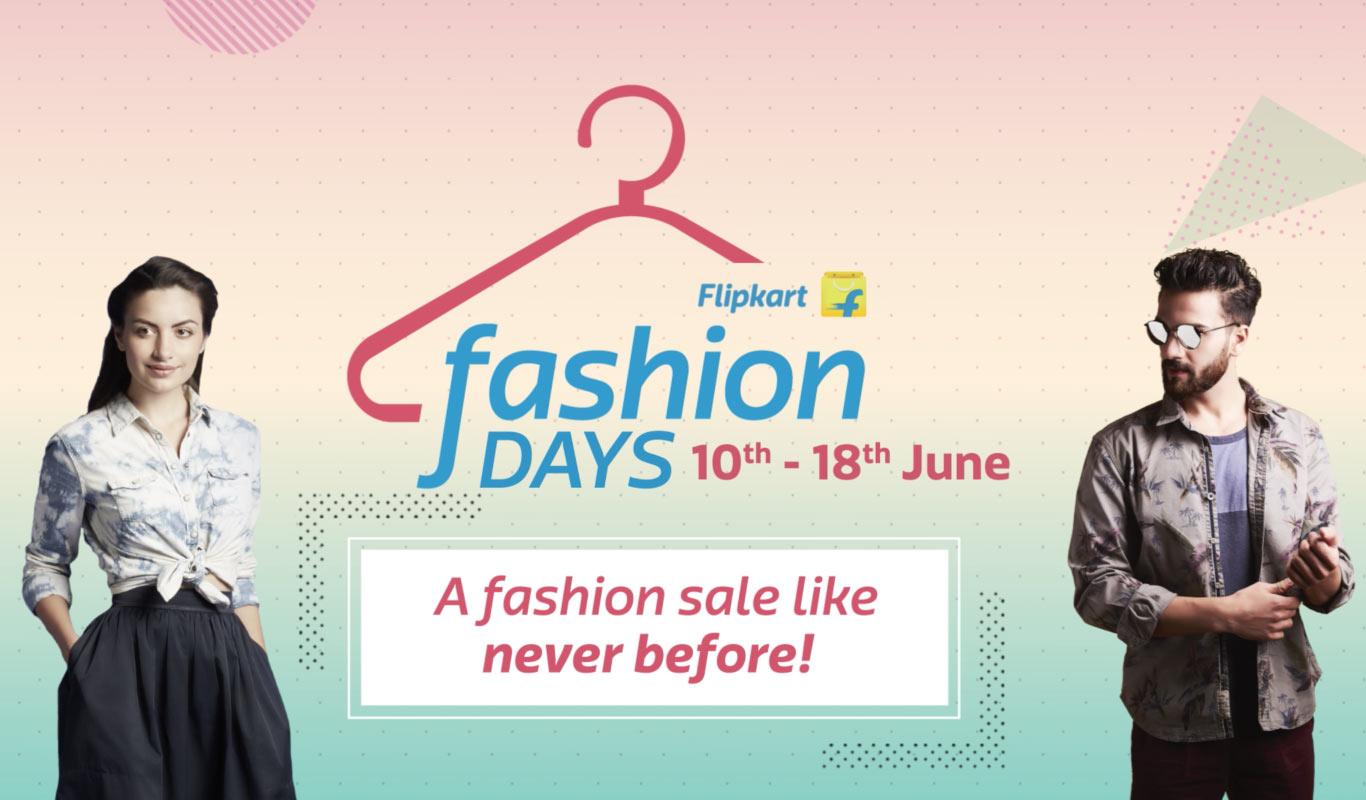 9 days of Flipkart Fashion sale to drive your fashion blues away!