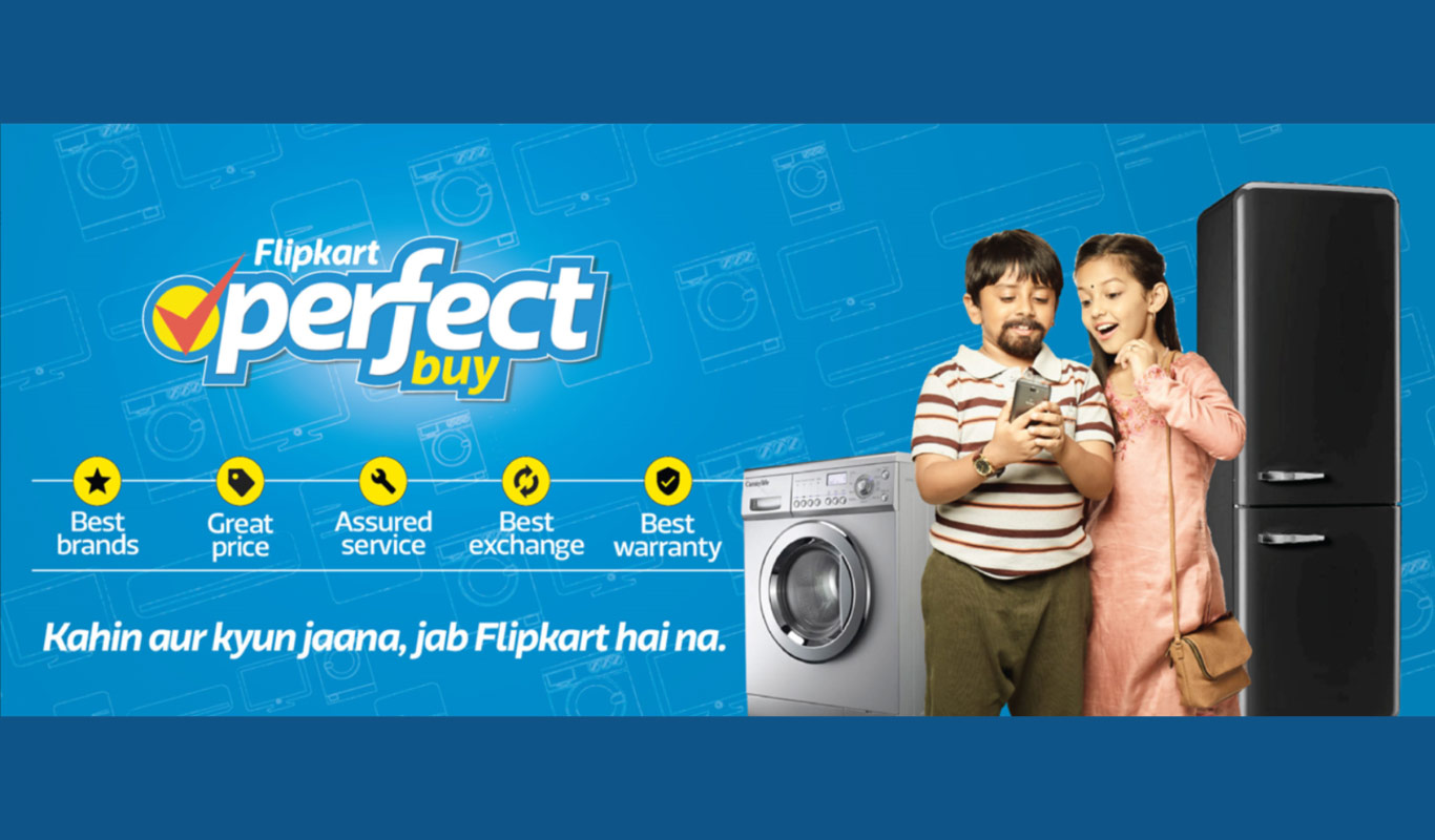 Flipkart Perfect Buy makes large appliance shopping convenient. Try it!