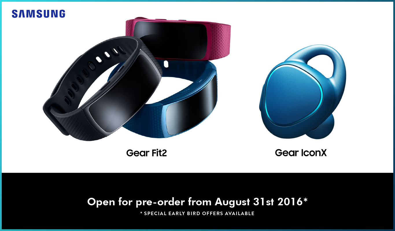 Samsung Gear Fit2 and Gear IconX – active tech just got way smarter