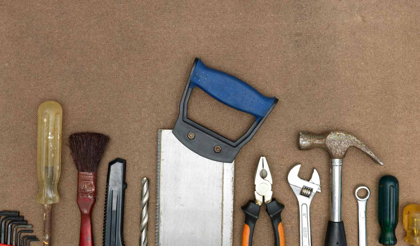 Give the repairman time off with these handy home tools