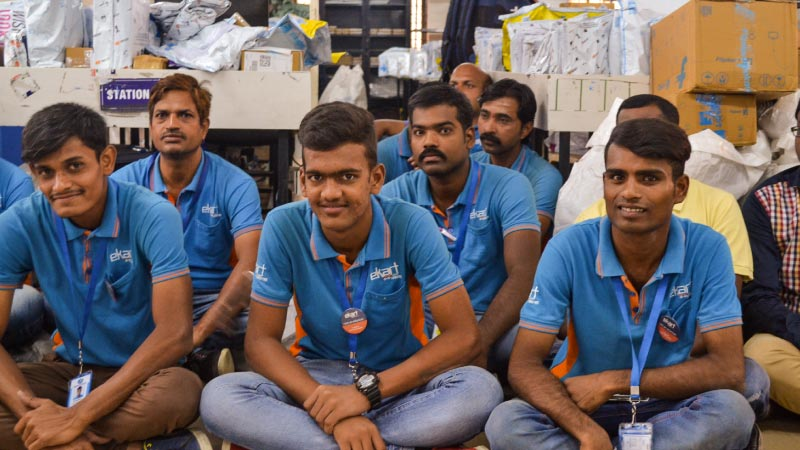 Differently abled Wishmasters of eKart