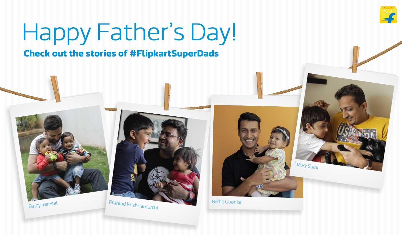 This Father's Day, get up-close-and-personal with these fathers at Flipkart – Meet the #FlipkartSuperDads