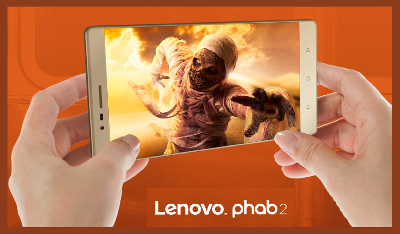 6 reasons to #GoPHAB with the Lenovo Phab 2 –  #FlipkartUnique