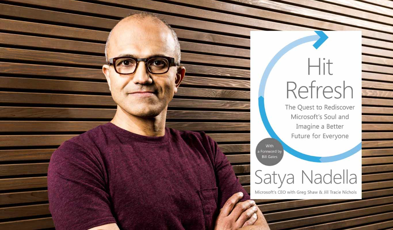 Satya Nadella's Hit Refresh is on Flipkart. Order now!