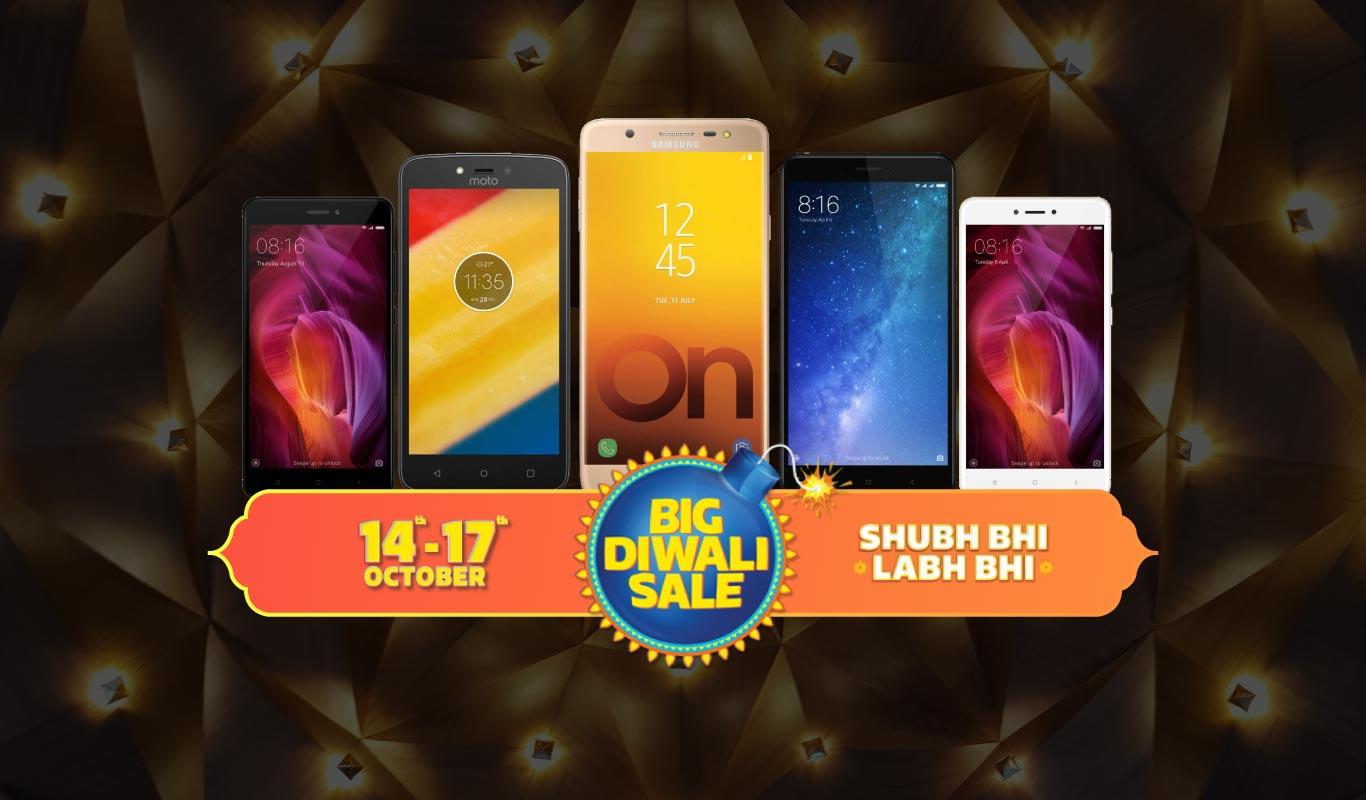 Flipkart's 2017 Diwali smartphone deals are easier on your pocket