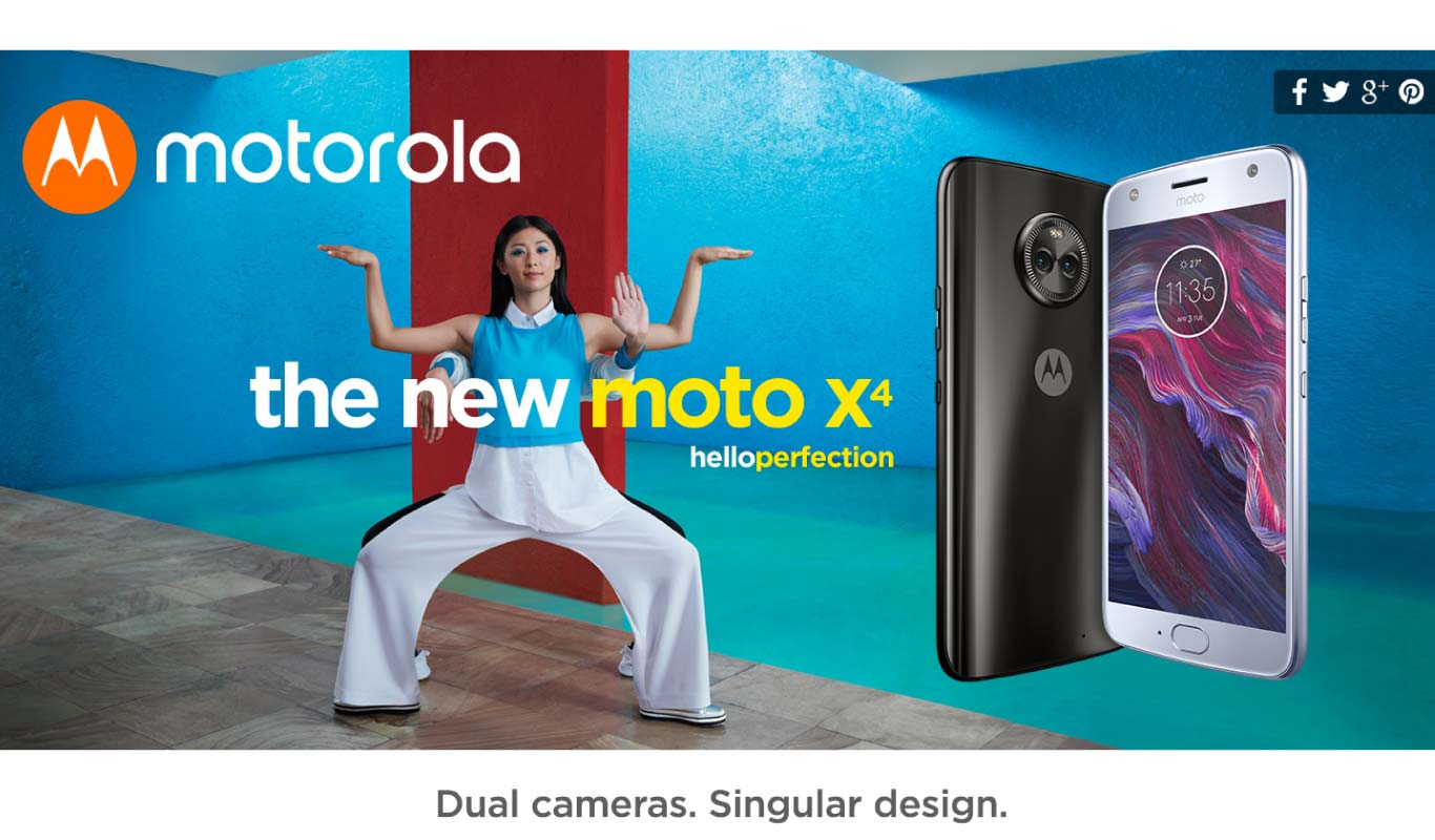 Moto X4 #FlipkartUnique – Experience perfection with the best offers!
