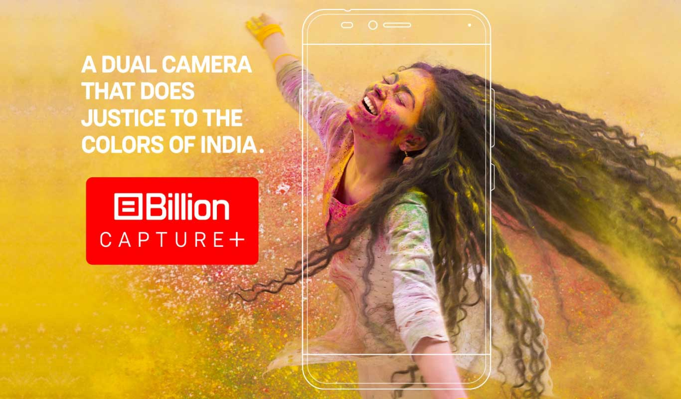 Billion Capture+ — a dual camera phone with flagship features made for India