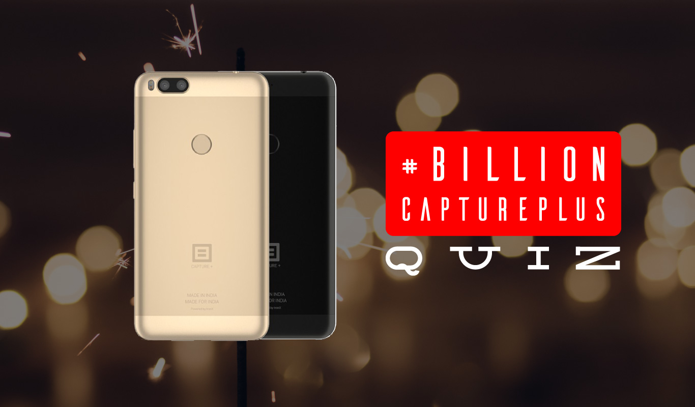 #BillionCapturePlusQuiz – Have you heard about India's new phone Billion Capture+?