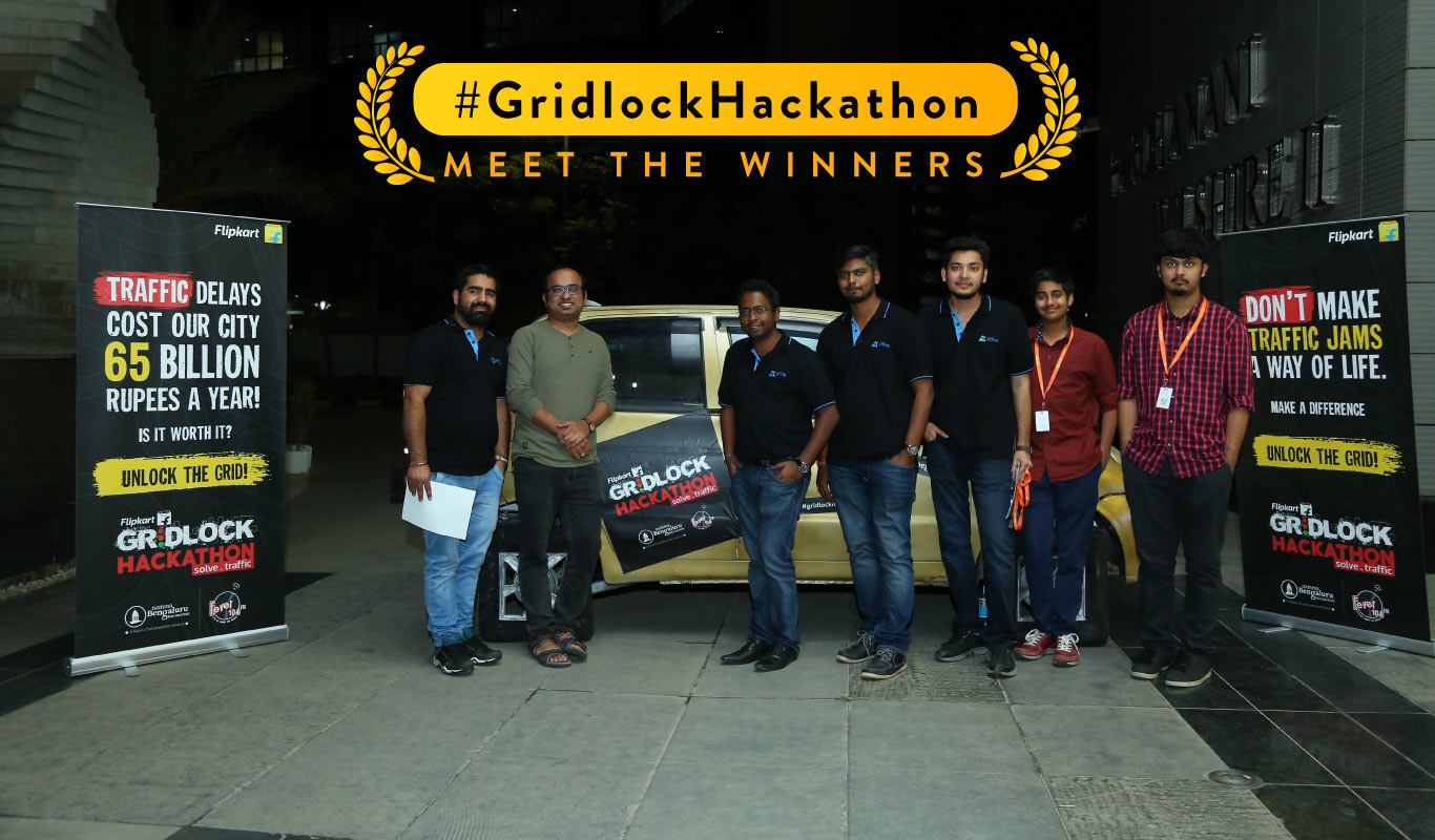 Gridlock Hackathon grand finale – the biggest winner was Bengaluru!