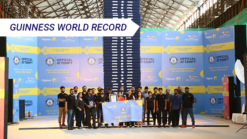 The Guinness World Record broke, our furniture didn't: Look at these photos