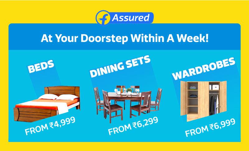 FurniSure - Durability Certified Furniture from Flipkart
