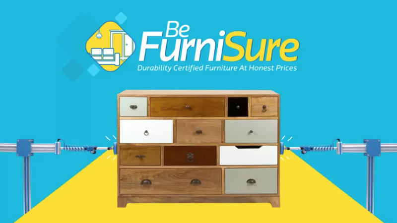 Quality, durability and no second guesses — be FurniSure with Flipkart
