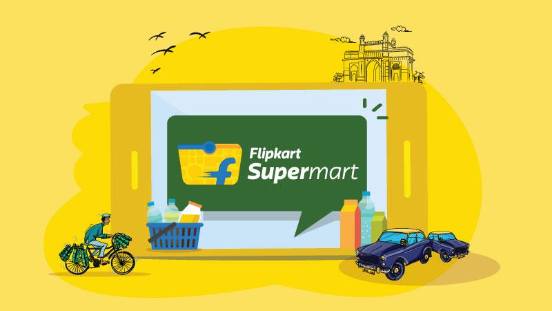 Actualités: Flipkart lance une épicerie en ligne `` Supermart '' à Mumbai