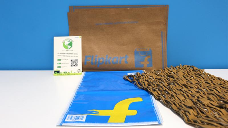 Flipkart Outlines Vision To Eliminate Single-Use Plastic