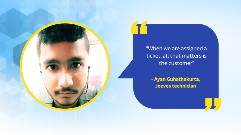Ayan Jeeves Technician from Howrah
