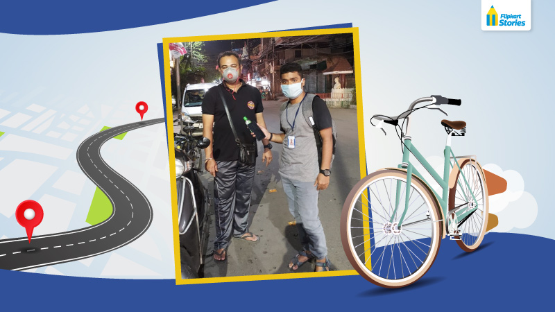 Pedal to the mettle: Amid lockdown, this Jeeves technician cycled 25 km to help a customer