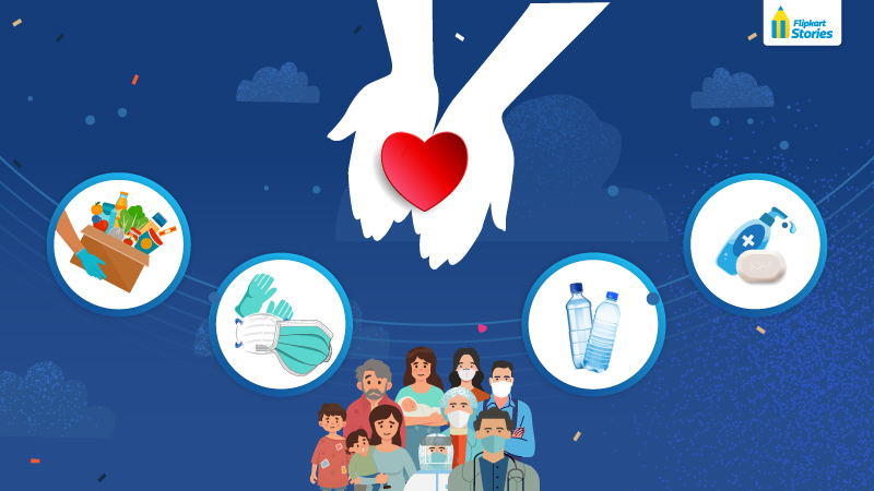 Cause and effect in COVID-19 times – How Flipkart's unique ecosystem collaborations foster a culture of giving back