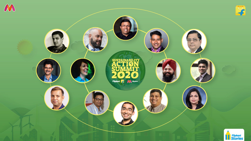 Welcome to the first-ever virtual Flipkart Sustainability Action Summit, 2020!