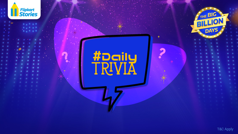 #DailyTrivia: This Big Billion Days Sale, Quiz Your Way To Exciting Prizes!