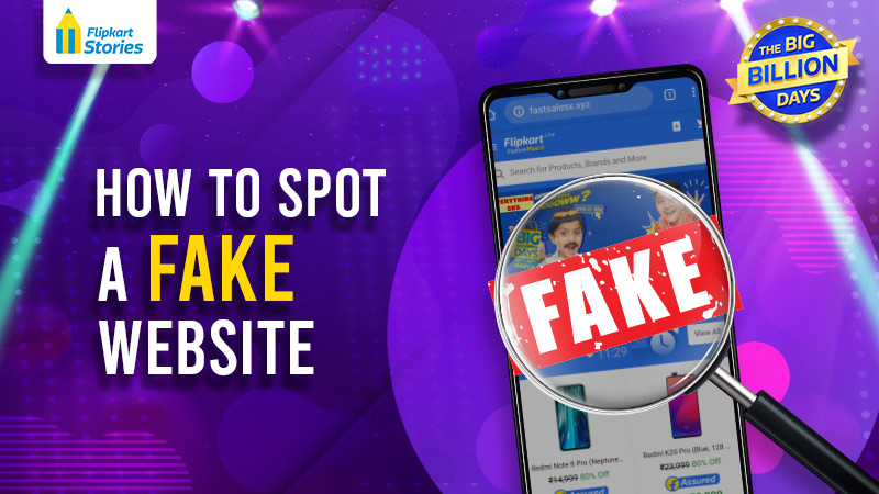 Shop online securely! Know how to unmask a fake Flipkart website or app