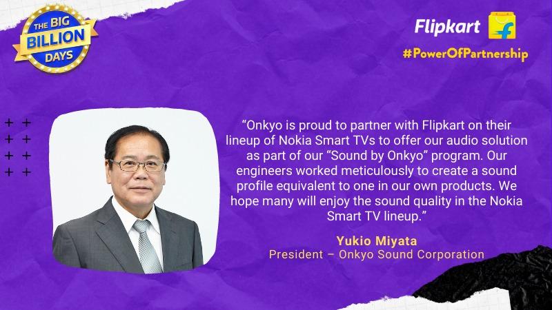 Power Of Partnership Yukio Miyata, President – Onkyo Sound Corporation
