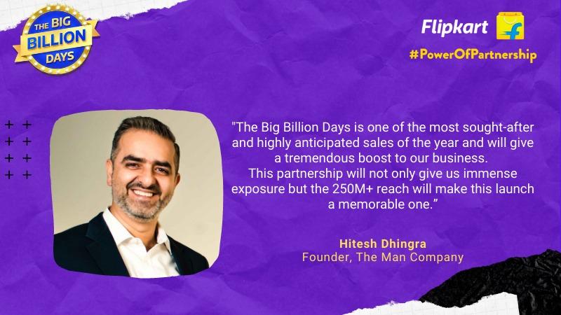 Power Of Partnership - Hitesh Dhingra, The Man Company