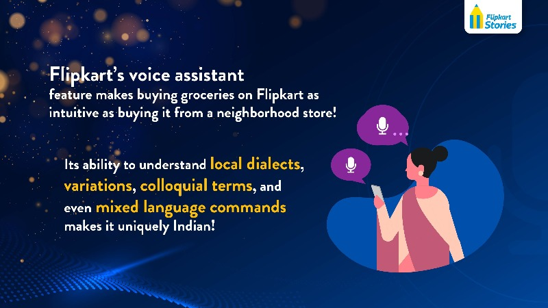 Flipkart Voice Assistant Infographic The Big Billion Days